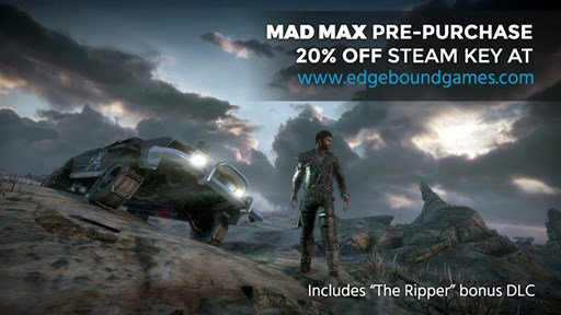 Mad Max pre-purchase now available