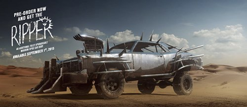 The Ripper - Mad MAx Pre-purchase bonus car