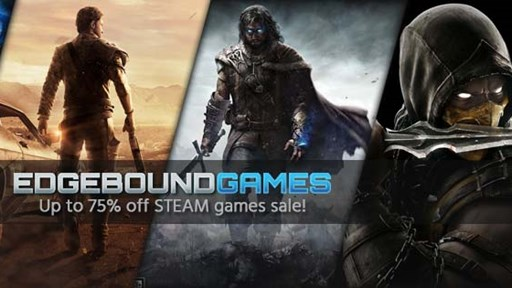 Up to 75% off STEAM games sale